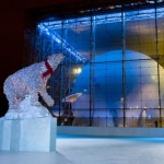 Polar Rink New York Natural History Museum -